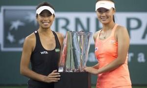 回顾中国冠军时刻:李娜两捧杯 双打屡创辉煌战绩