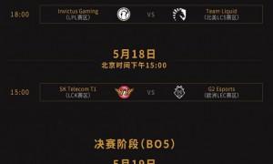 MSI小组赛收官:SKT打碎IG全胜梦 淘汰赛分组确定
