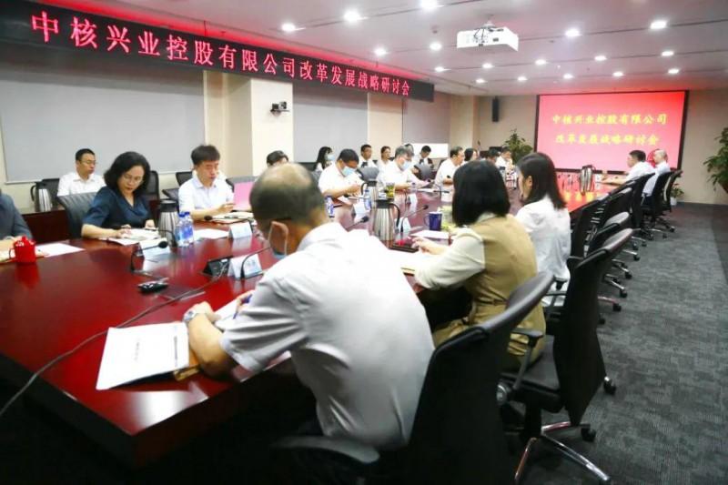 戴雄彪应邀出席中核兴业改革发展战略研讨会:立足三新一高 行而不辍未来可期
