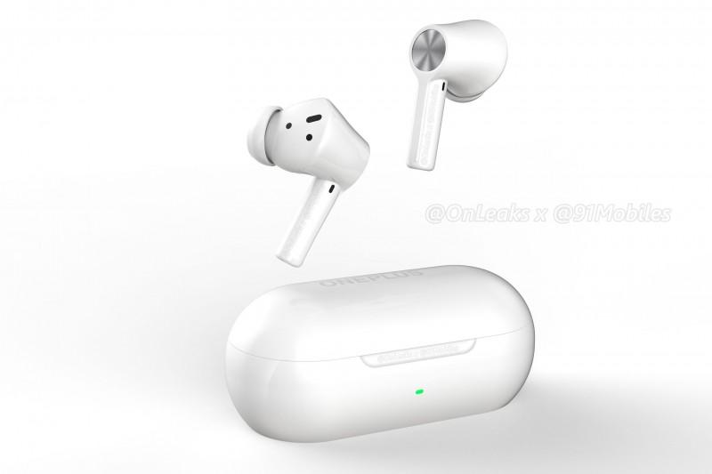 一加真无线耳机Buds Z2渲染曝光 或于10月份推出