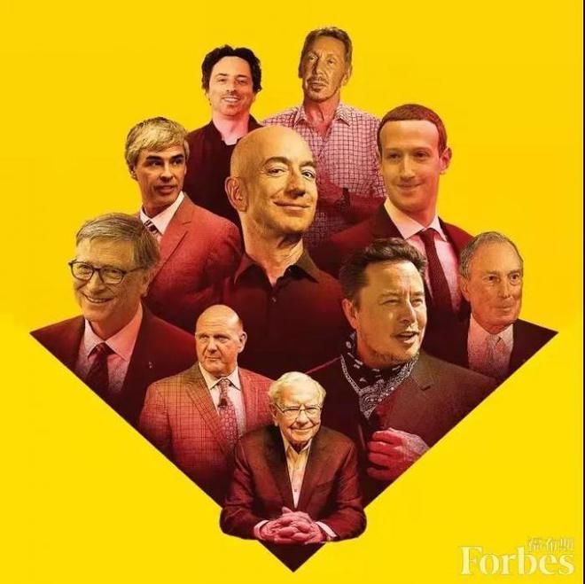 2021美国富豪榜:贝索斯超2000亿美元再登顶